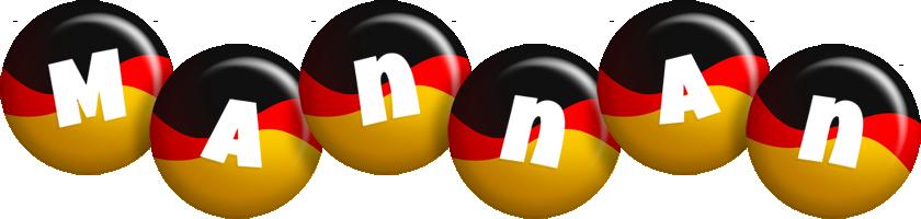 Mannan german logo