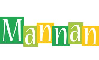 Mannan lemonade logo