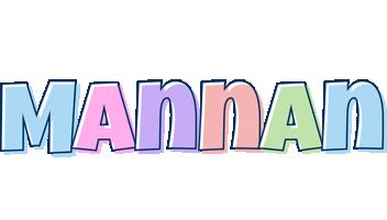 Mannan pastel logo