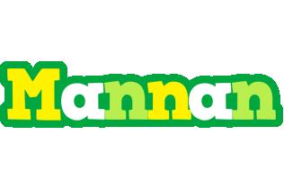 Mannan soccer logo