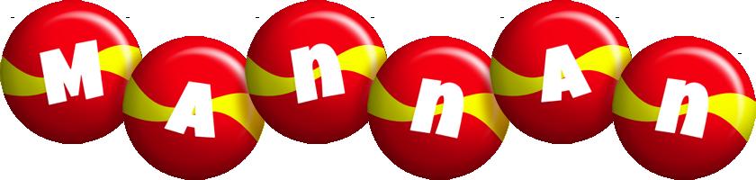 Mannan spain logo