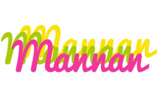 Mannan sweets logo