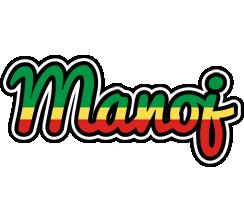 Manoj african logo