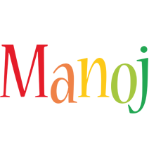 Manoj birthday logo
