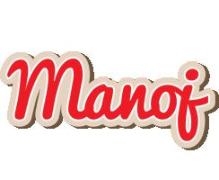 Manoj chocolate logo