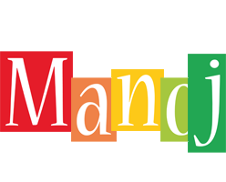 Manoj colors logo