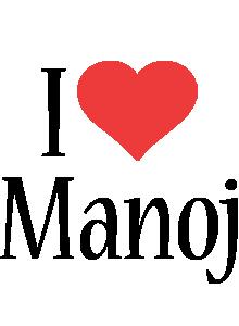 Manoj i-love logo