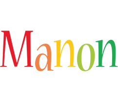 Manon birthday logo
