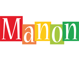 Manon colors logo