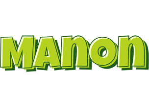 Manon summer logo