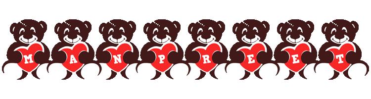 Manpreet bear logo