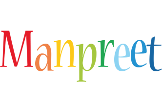 Manpreet birthday logo