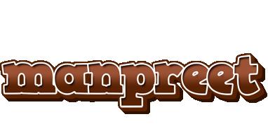 Manpreet brownie logo