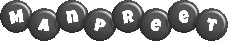 Manpreet candy-black logo