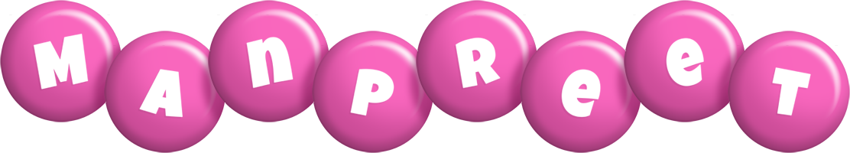 Manpreet candy-pink logo