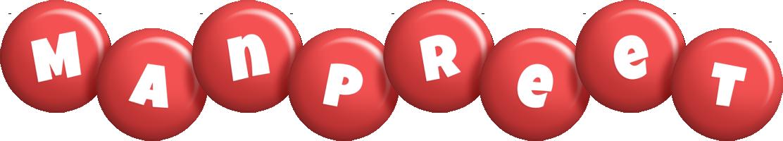Manpreet candy-red logo