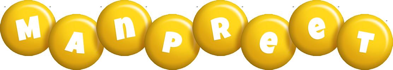 Manpreet candy-yellow logo