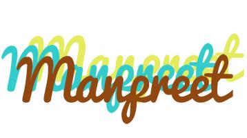 Manpreet cupcake logo