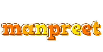 Manpreet desert logo