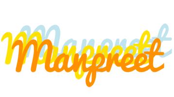 Manpreet energy logo