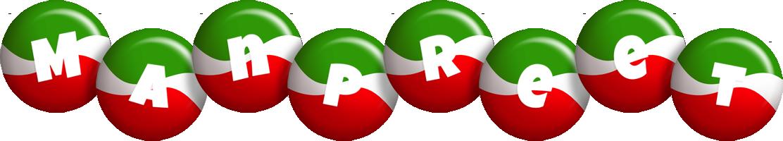 Manpreet italy logo
