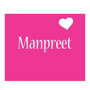 Manpreet love-heart logo
