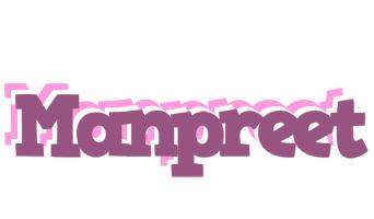 Manpreet relaxing logo