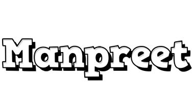 Manpreet snowing logo