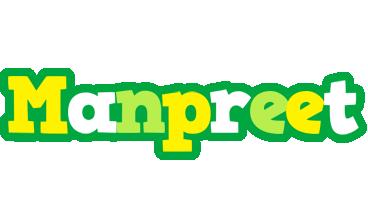 Manpreet soccer logo