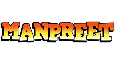 Manpreet sunset logo