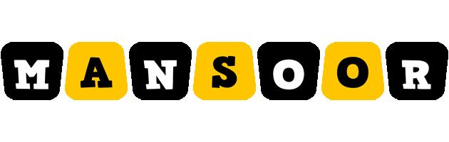 Mansoor boots logo