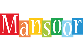 Mansoor colors logo