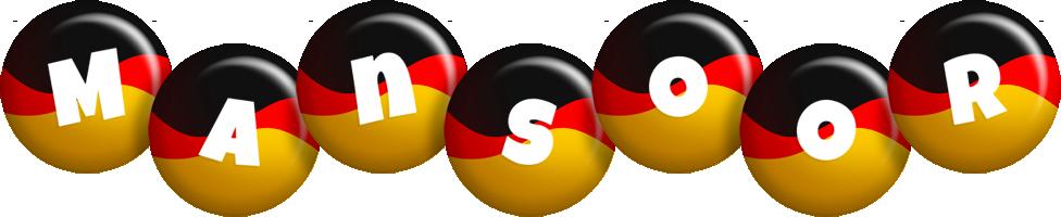 Mansoor german logo