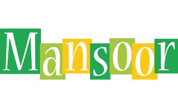 Mansoor lemonade logo