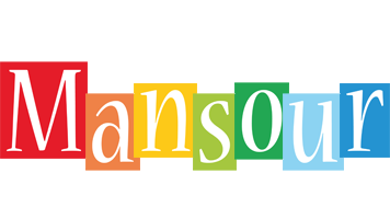 Mansour colors logo