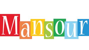 Mansour colors logo