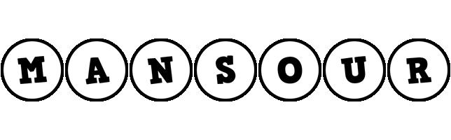 Mansour handy logo