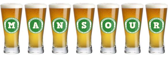 Mansour lager logo
