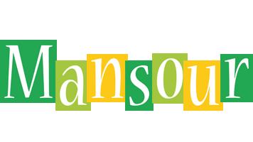Mansour lemonade logo