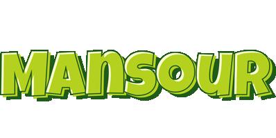 Mansour summer logo