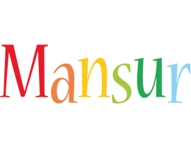 Mansur birthday logo