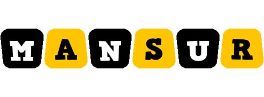 Mansur boots logo