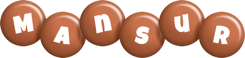 Mansur candy-brown logo
