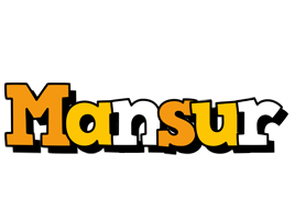 Mansur cartoon logo