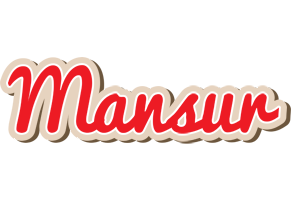 Mansur chocolate logo