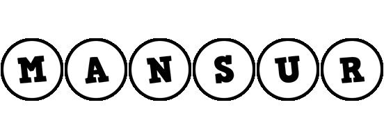 Mansur handy logo