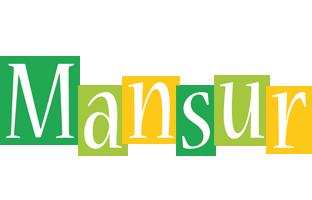Mansur lemonade logo