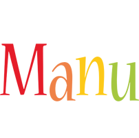 Manu birthday logo