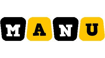 Manu boots logo