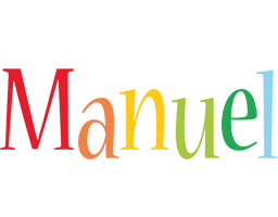 Manuel birthday logo